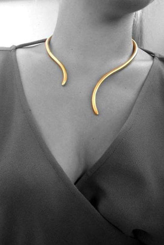 Classic Horns Necklace - Minos Collection / Ancient Greek Jewelry & Art