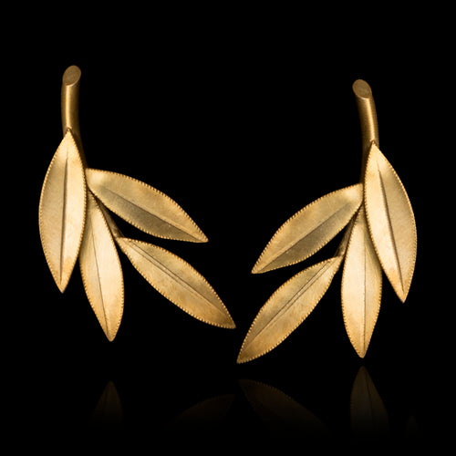 Olive Leaf Earrings - Physis Collection