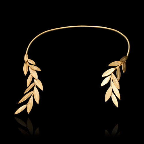 Olive Leaf Necklace - Physis Collection