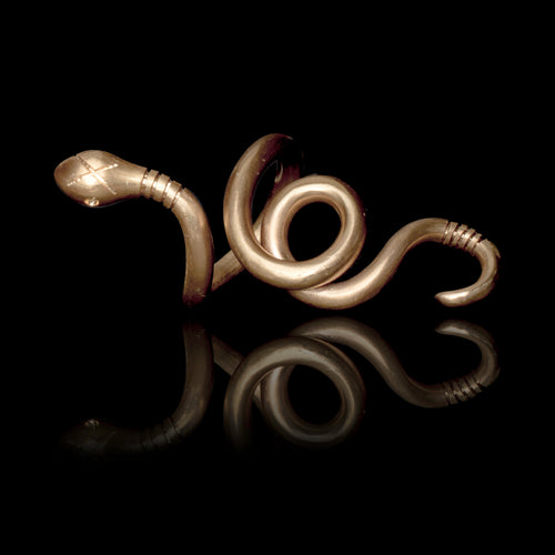 Twisted Loose Snake Ring  - Ofis Collection / Ancient Greek Jewelry & Art