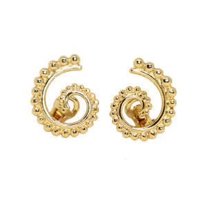 Nautilus Ammonite Clip-on Earrings - Symbols Collection
