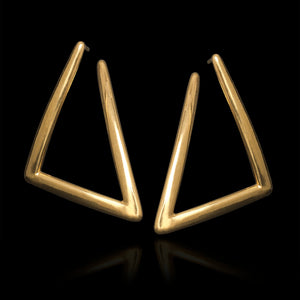 Triangle Arrow Earrings - Minos Collection / Ancient Greek Jewelry & Art