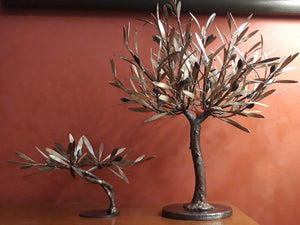 Bronze Olive Tree,Olive tree,bronze tree,home decor, decoration gift, tree sculpture, gift ideas, sculpture, tree of life Ellina's Treasures