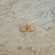 Load image into Gallery viewer, Ancient Greek Stud Earrings / Gold-plated Stud Earrings / Ancient Greek Post Earrings / Trending Dainty Earrings Symbols Collection