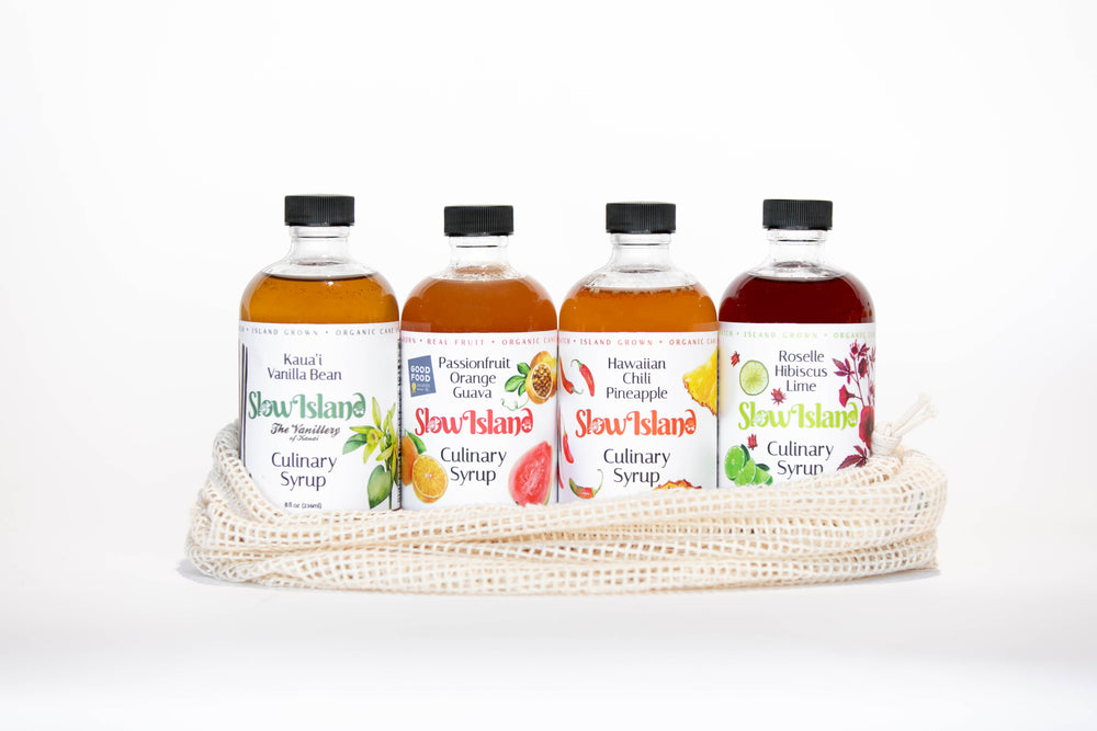 Hawaiian Culinary and Cocktail Syrups