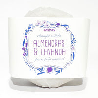 Solid shampoo - Almonds & Lavender: for normal hair