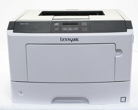 Lexmark Refurbished 35S0060 MS312dn Printer (no toner included)