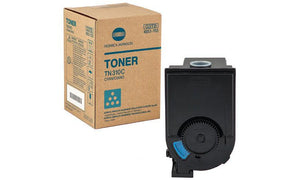 Konica Minolta Genuine OEM 4053-701 Cyan Toner Cartridge, Estimated Yield 11,500