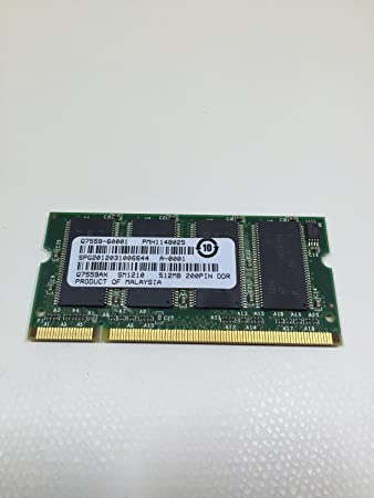 HP Refurbished Q7559-60001 512MB, 167MHz, 200-Pin DDR DIMM