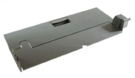 HP Refurbished RM1-2990 Left Door Assembly - Includes flapper pad, left door, facedown guide, left door handle, compression spring, and screw
