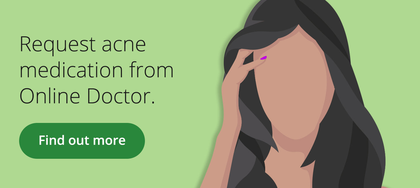 Acne treatment at Online Doctor