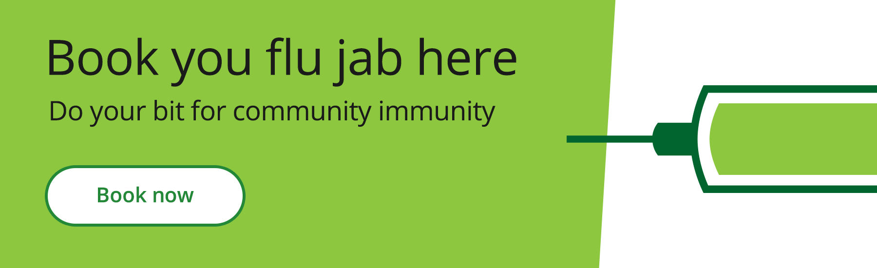 Book your flu jab