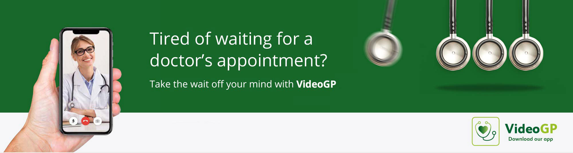 See a GP by video in as little as 30 minutes