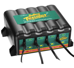 CARGADOR DE BATERIAS MULTIPLE PARA TALLER Battery Tender 4-Port Battery Management System