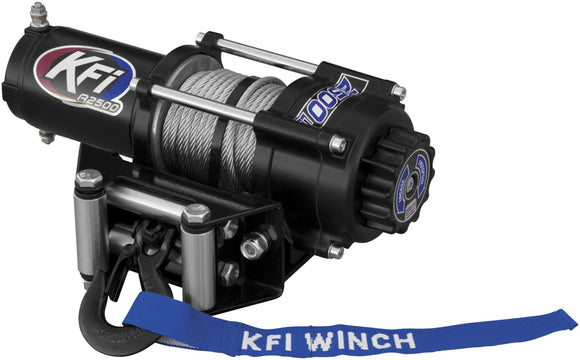 WINCHE CABLE METALICO 2500LB KFI Products 2500 ATV Series