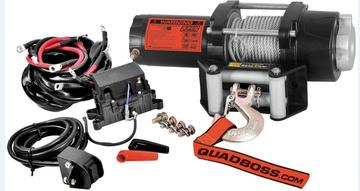 WINCHE QUADBOSS 2500lb CON CABLE METALICO