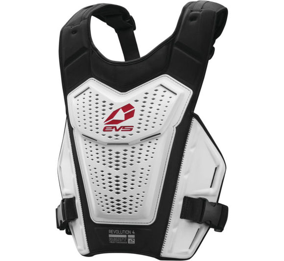 PECHERA EVS Revo 4 Chest Protector S/M blanco