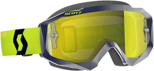 GAFAS MOTOCROSS SCOTT HUSTLE AZUL/AMARILLO(SCOTT HUSTLE GOGGLE BLUE/YELLOW W/YELLOW CHROME WORKS)