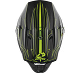 Casco EVS T5 Pinner (negro/Am fluo)