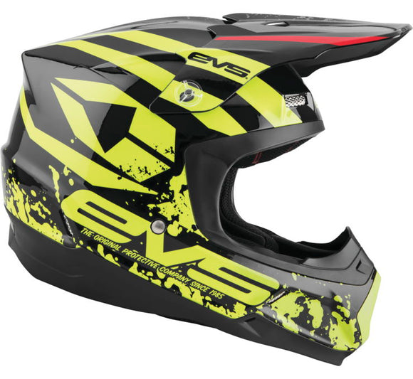 Casco EVS T5 Grappler (Negro)