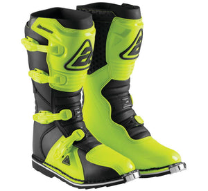 Botas Answer AR1 Race Boots (Verde Acido/negro)