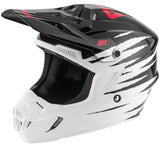 Casco Answer AR1 ProGlo Motocross(Blanco/Ngr/rosa)