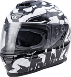 CASCO FLY RACING SENTINEL AMBUSH HELMET CAMO/BLACK/GREY