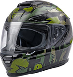 CASCO FLY RACING SENTINEL AMBUSH HELMET CAMO/GREEN/GREY