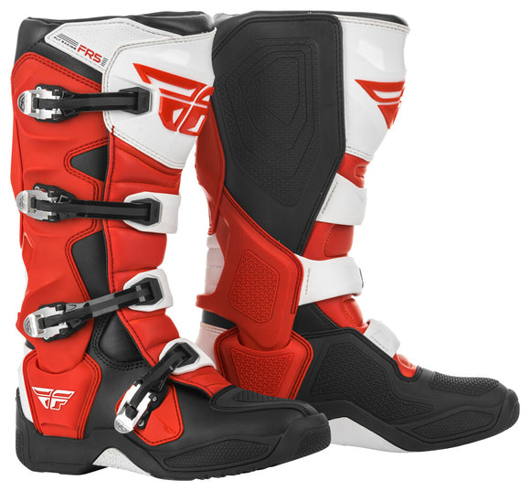 BOTAS FLY RACING FR5 BOOTS RED