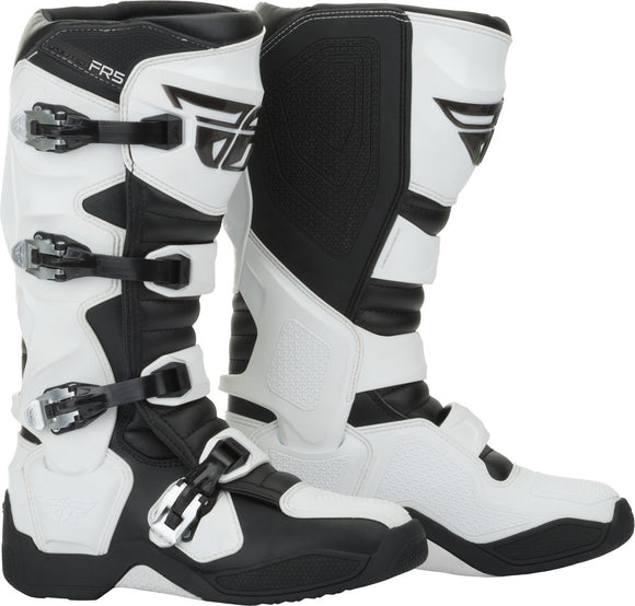 BOTAS FLY RACING FR5 BOOTS WHITE