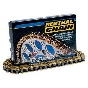 Renthal R1 520 Works CADENA 520-114 gold