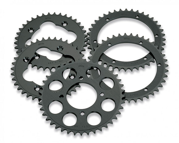 Moose Aluminum Sprocket trasero - Black - 37T Yamaha ATV