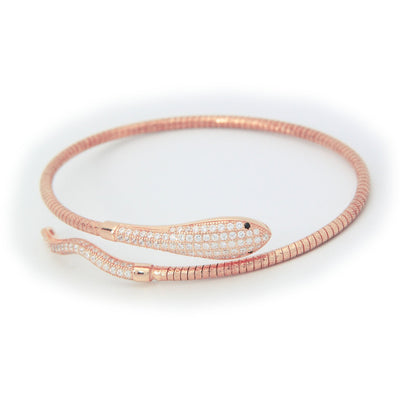 Rose Snake Bracelet - SCANDALICIOUS GIRL