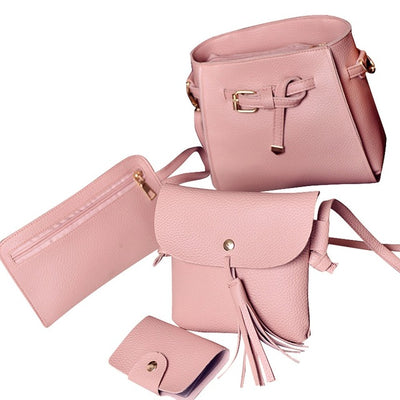 Luxury Handbags Set For Women: Bags & Wallet - SCANDALICIOUS GIRL