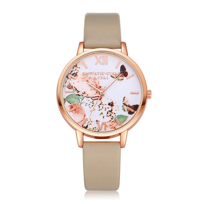 Fashion Roses Casual Women Watch - SCANDALICIOUS GIRL
