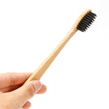 Biodegradable Bamboo Charcoal Infused Toothbrush