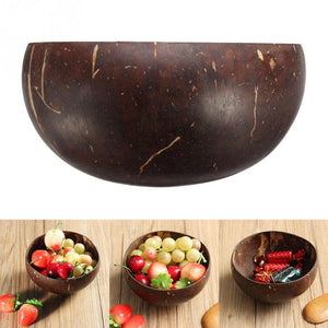 Vintage Eco-Friendly Coconut bowl Polished with Coconut Oil