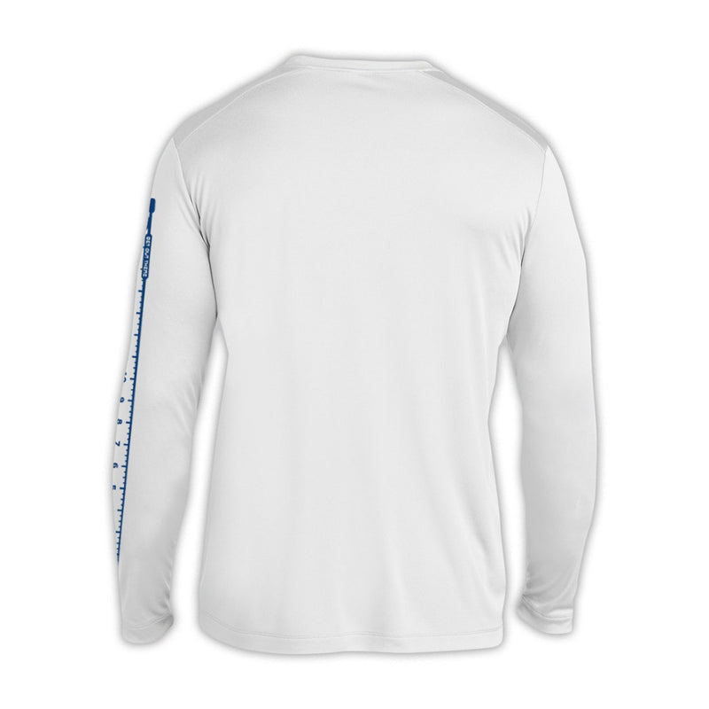 Wade Deep Unisex 2019 White Catch And Release Sunshirt - Back