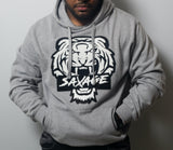 Savage full tiger face hoodie