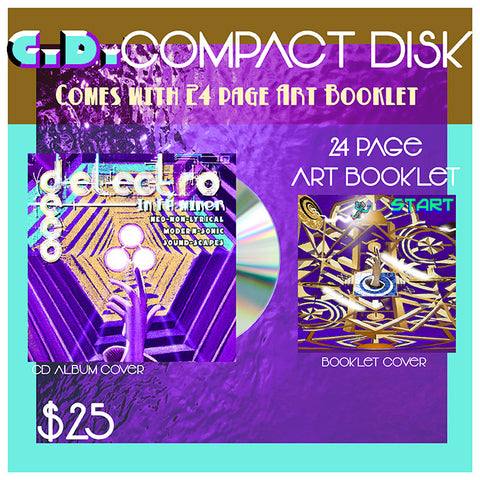 (PRE ORDER) compact disk (C.D.) of Deco Electro in F #[Sharp] Minor