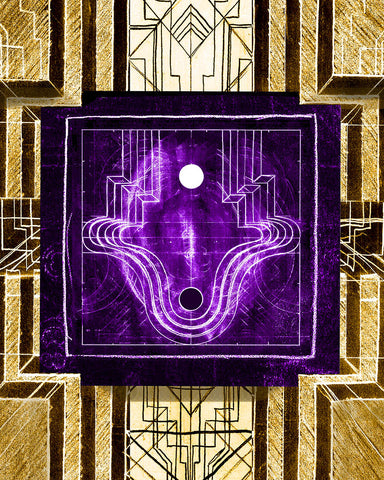 Deco Electro Glyph #5 from the Temple of Metroploton
