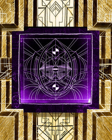Deco Electro Glyph #6 from the Temple of Metroploton