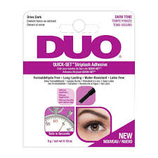 DUO QUICK-SET Striplash Adhesive Dark tone