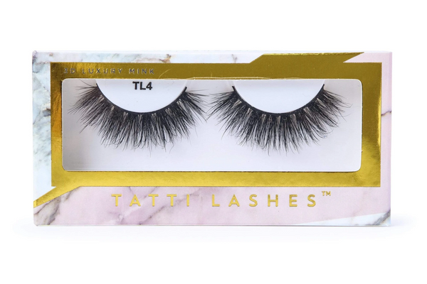 3D Luxury Mink Lashes TL4
