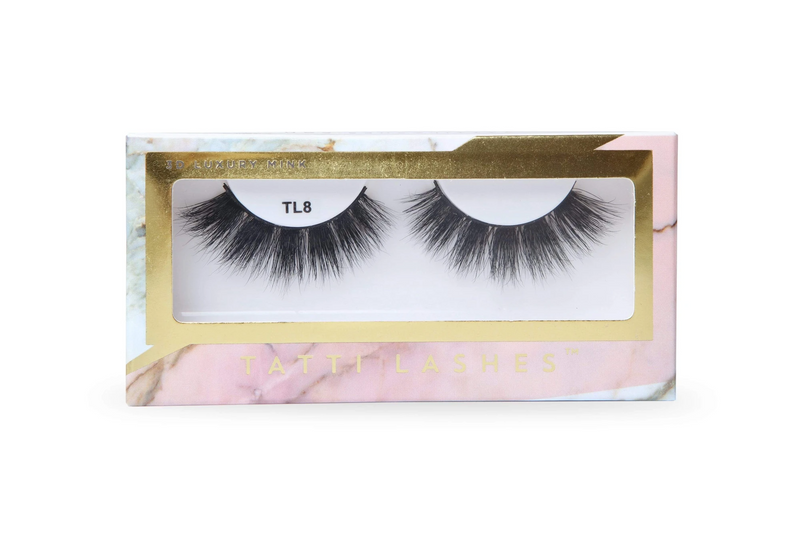 3D Luxury Mink Lashes TL8