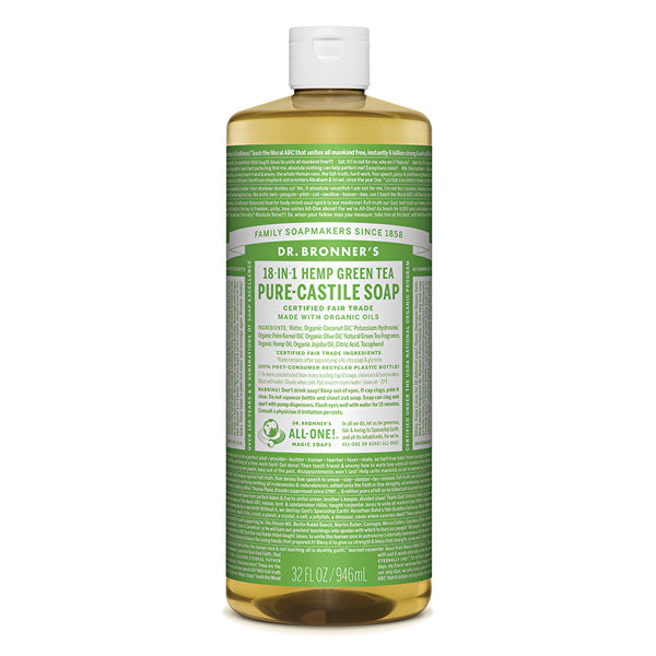 PURE-CASTILE LIQUID SOAP (32Oz)