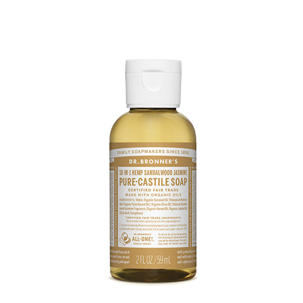 PURE-CASTILE LIQUID SOAP (2Oz)