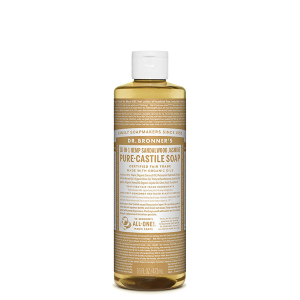 PURE-CASTILE LIQUID SOAP (16Oz)