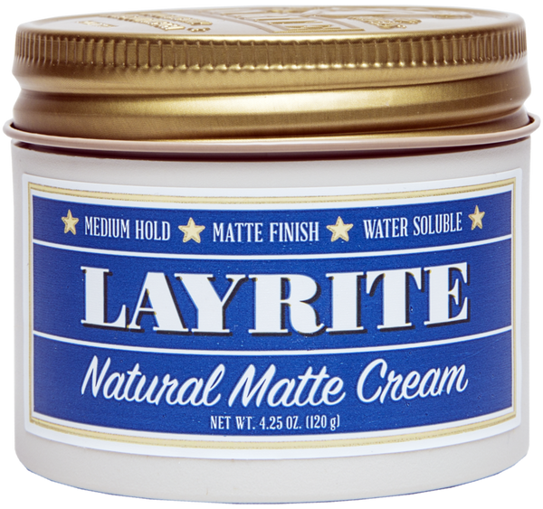 Natural Matte Cream (4.25oz)