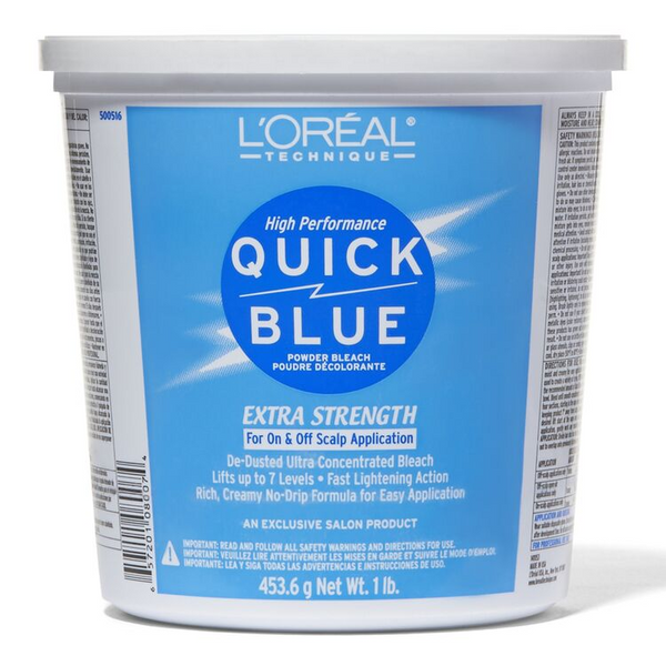 L'Oreal Quick Blue Powder Bleach, 16 Ounce